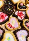 子どもと作るバレンタインチョコタルト♡