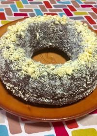 超簡単☆ミスド風♡ゴールデンチョコケーキ