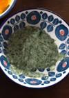 離乳食初期 鯛とほうれん草のクリーム煮