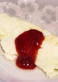 卵白消費に白いオムレツ