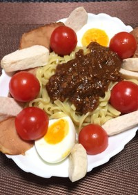 温ジャージャー麺!(^^)!