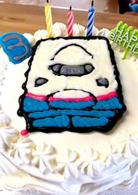 誕生日ケーキ 新幹線MAXとき