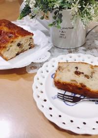 ぴんこ家秘伝のパウンドケーキ