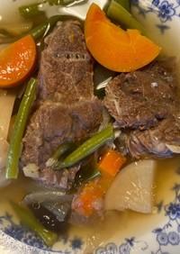 油っこくない黒毛和牛すね肉の圧力鍋煮込み