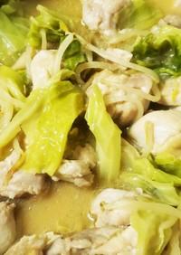 簡単!鶏の味噌鍋