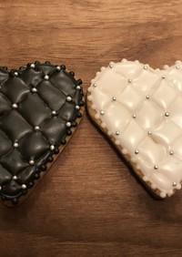 バレンタイン アイシングクッキー