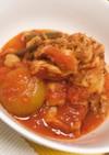 鶏もも肉のトマト煮込み♡簡単美味しい