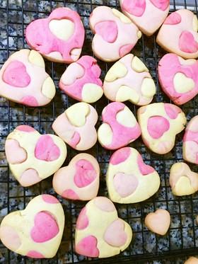 バレンタイン♡ハートの型抜きクッキー