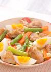パリパリチキンと春野菜のグリルサラダ