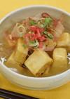 高野豆腐のあんかけ揚げ出し豆腐