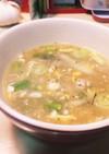 アスパラガススープのバリスタイル