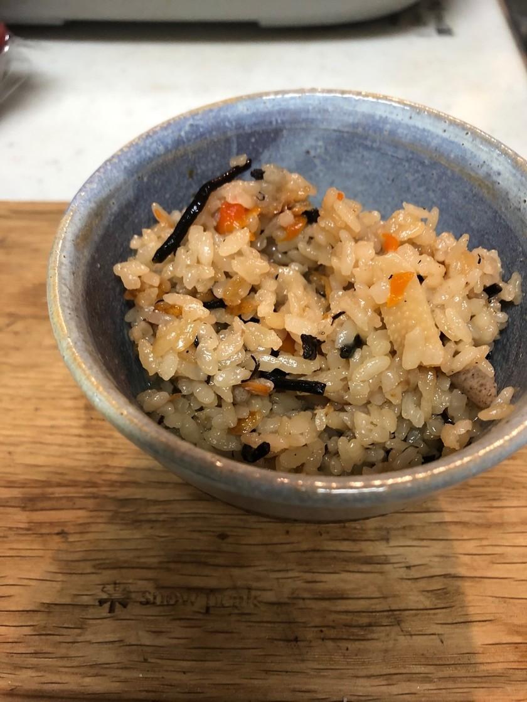 簡単!*沖縄炊き込みご飯じゅーしー