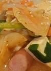 ホッ…と辛美味~味噌キムチスープ