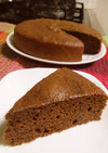 砂糖無し♡蜂蜜だけでココアのケーキ