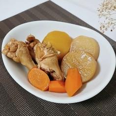 鶏肉と根菜のべっこう煮♡