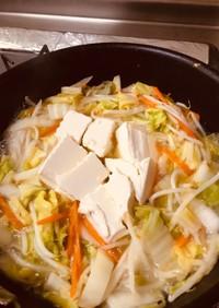 豆腐と野菜のあんかけ丼