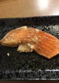 冷凍赤魚で!赤魚の煮付け