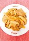 中華風たまねぎときのこたっぷり生姜焼