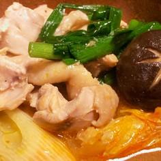 【石川県名物】とり野菜(味噌仕立ての鍋)
