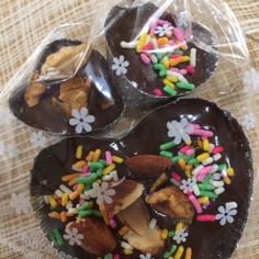 板チョコで作る簡単バレンタインチョコ