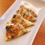 納豆とキャベツのおやき(チヂミ)の写真