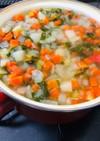 冷凍保存OK!野菜スープ♡離乳食中期〜