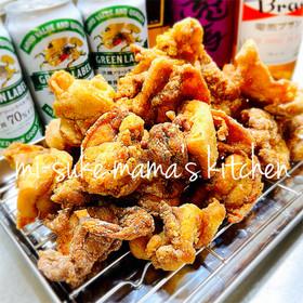 大人の給食❤カレー味!鶏肉の唐揚げ。ஐஃ