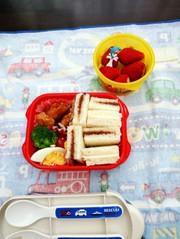 幼稚園弁当(年少)24の写真