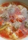 犬ご飯 いわし団子のトマトシチュー