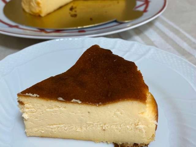 バスク チーズ ケーキ レンジ