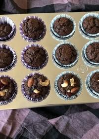 簡単 チョコカップケーキ