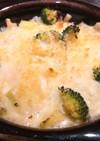 豆とシーチキンのチーズ焼き