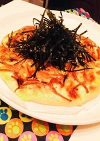 リメイク煮物 きんぴらごぼうのマヨピザ