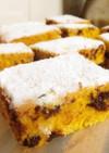 砂糖無し♡蜂蜜かぼちゃチョコチップケーキ