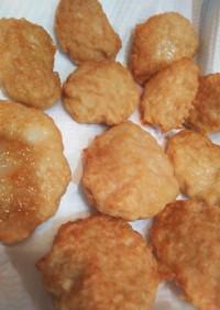 チキンナゲット!挽肉、豆腐、唐揚粉で簡単