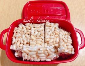 簡単ポン菓子バーシリアルバー覚書