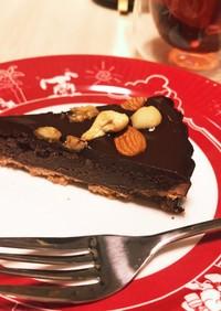 濃厚!チョコレートタルト