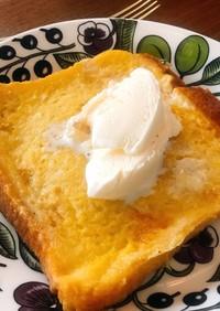 アーモンドミルクでフレンチトースト