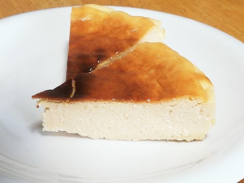 米粉と豆乳ヨーグルトのチーズケーキ