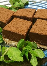 バレンタイン❤簡単!生チョコケーキ