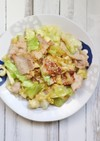 簡単★豚肉と春キャベツの塩にんにく炒め