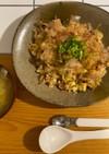 生姜とジャコの和風チャーハン