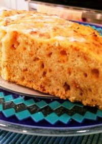 チーズ入り蜂蜜ヨーグルトケーキ