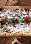 ❁さば缶と小梅の炊き込みご飯❁