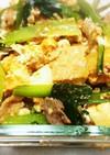 チョー簡単!!小松菜チャンプルー