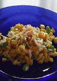 枝豆とカニかまのサラダ