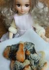 リカちゃん♡鮭の磯辺巻き天ぷら