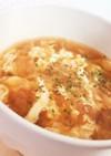 生姜でほっこり◎オニオンスープ