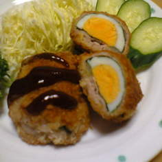 ぶた卵フライ(^.^)