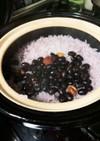 リピートされる黒豆梅ご飯